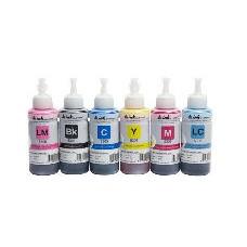 Светостойкие чернила INKSYSTEM для фотопечати 100мл (6 цветов)