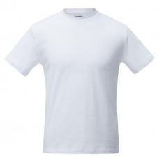 Футболка мужская белая Comfort (FutbiTex), синтетика/хлопок (имитация хлопка), для сублимации