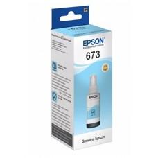 Чернила Epson оригинальные C13T67354A (Light cyan)