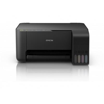 МФУ A4 Epson L3150, 5/10стр/мин, 5760x1440dpi, iPrint, USB, Wi-Fi Direct C11CG86409