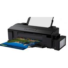 Принтер струйный цветной A3+ Epson L1800 (C11CD82402), Black, 5760х1440 dpi, до 15/2,6 стр/мин, USB, встроенное СНПЧ по 70 мл (чернила Epson L800)