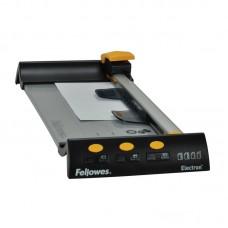 Резак для бумаги роликовый Fellowes Electron A4 (длина реза -320мм, до 10 л) +4 картриджа (прямой, биговка, пунктир, волна), FS-54104